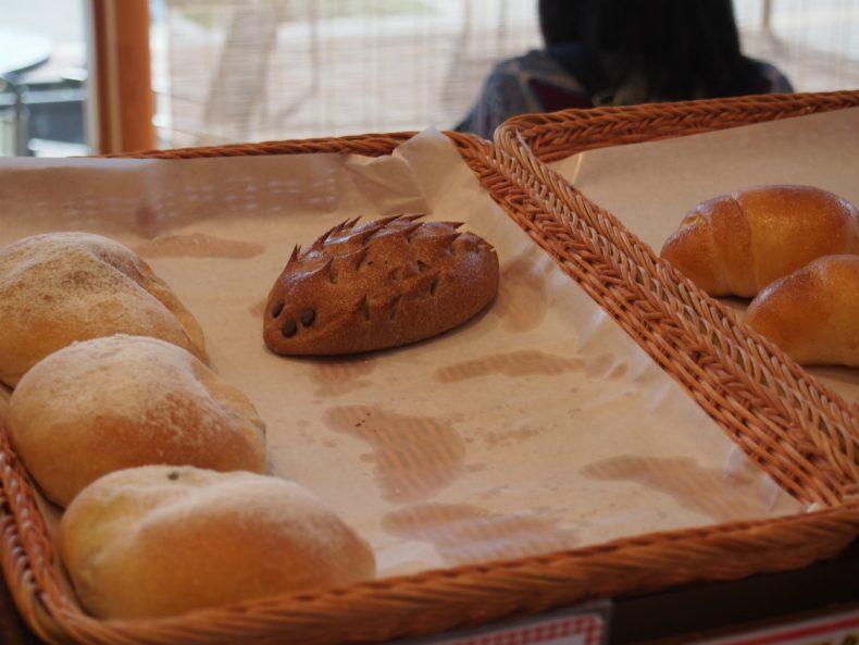 奥河内くろまろの郷 はりねずみのパン
