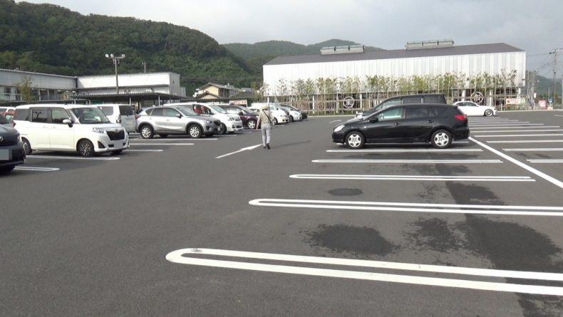 保田小学校 駐車場