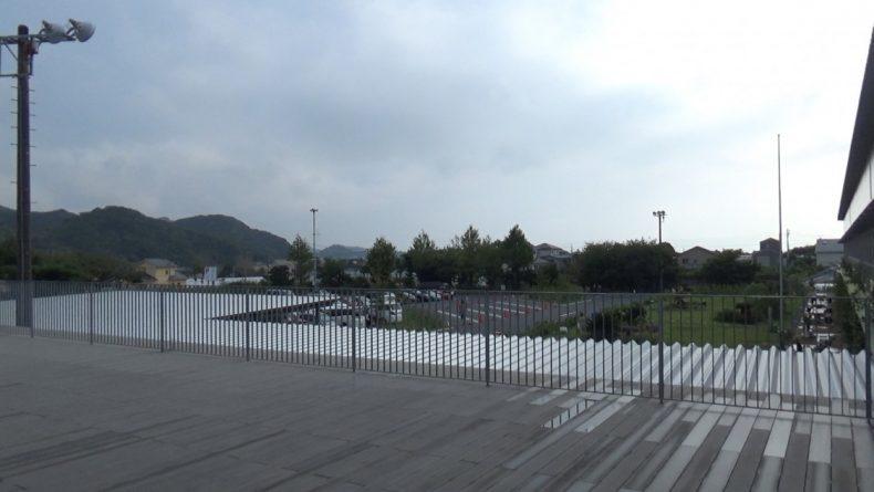 保田小学校 ベランダからの景色