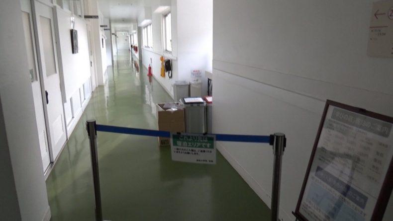 保田小学校 宿泊エリア