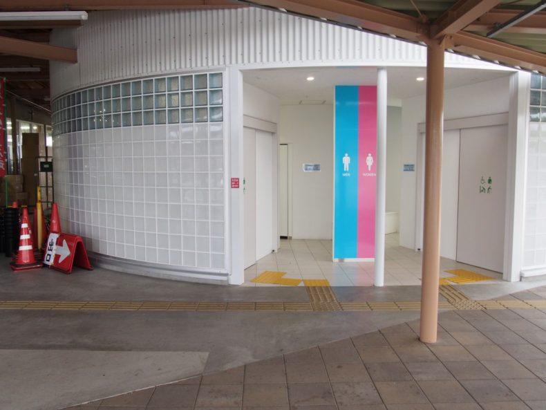 木更津 うまくたの里トイレ入口