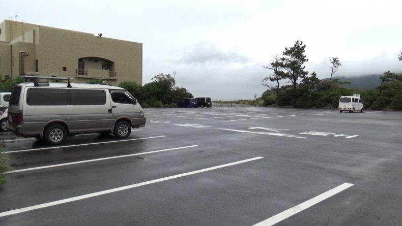道の駅きょなん 奥側駐車場